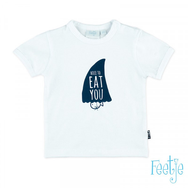 Nice to Eat You - Kurz Arm T-Shirt (weiss)