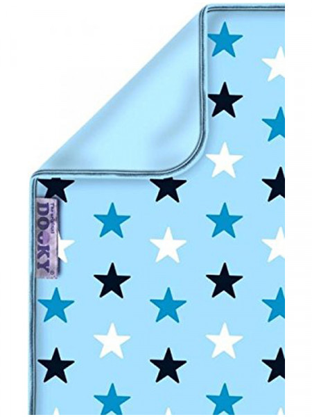 Dooky Baby Blue with Blue Stars