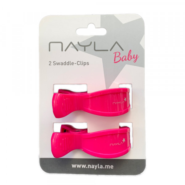 Swaddle Clips (pink)