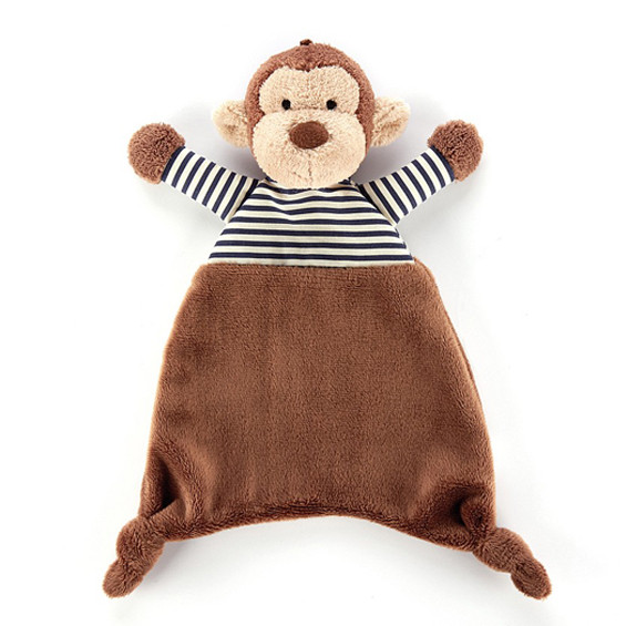 Jellycat Stripy Monkey Soother